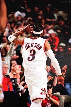 27 Ideas Basket Ball Art Allen Iverson For 2019 - The Basket - Sport Nba Basketball, Basketball Legends, Sport Football, Football Shirts, Nba Pictures, Basketball Pictures, Allen Iverson Wallpapers, Basketball Fotografie, Basket Nba