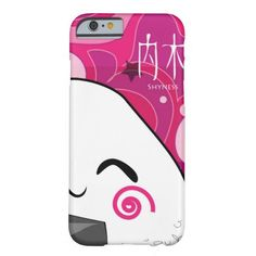 Cute and Girly Japanese Manga Onigiri iPhone 6 Case