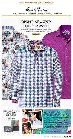 Robert Graham - Get Ready for Fathers Day!