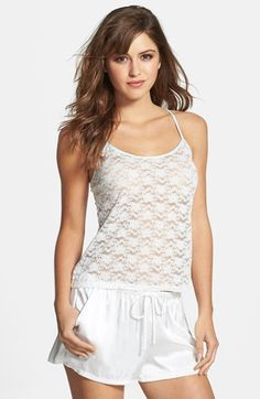 In Bloom by Jonquil 'The Bride' Lace Camisole available at #Nordstrom