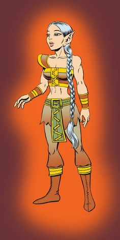 Clearbrook. elfquest
