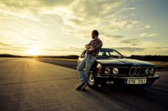 BMW 628csi (e24) - foto Jiřího Kalabise