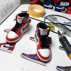 1:6 scale handmade shoes
