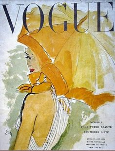 Fabulous Doodles-Fashion Illustration Blog-by Brooke Hagel: Vintage Vogue Illustrated Covers
