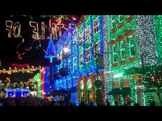 Best Christmas Lights Show EVER!! -1 of 4