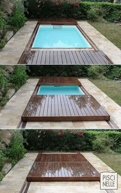 Custom Rolling Deck Fitted Pools:
