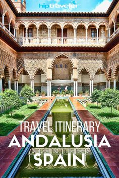 Andaluisa, Spain is known for it's architecture. The large region is full of hills, rivers and farmland along the border Southern Coast of Spain || HipTraveler