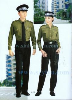 HOT selled smart design security guard uniform