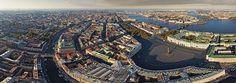 St-Petersburg, Ultra-High Resolution panoramas - AirPano.com • 360 Degree Aerial Panorama • 3D Virtual Tours Around the World