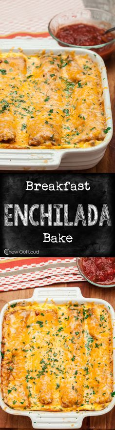 Easy, Make-Ahead, Scrumptious! Perfect for weekend brunch or weeknight dinner. A favorite crowd-pleaser. #mexican #breakfast #recipe