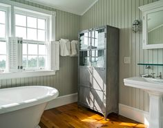 Beach Style Bathroom by Stedila Design