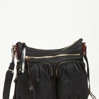 MZ Wallace 'Mia' Nylon Crossbody Bag | find on http://wandhee.com/mz-wallace-mia-nylon-crossbody-bag/