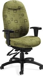 Check Out The Cool Fabric On This Eco Friendly Office Chair! The Grenada  Deluxe