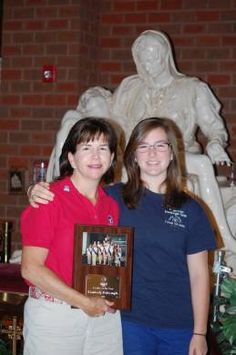 American Heritage Girls Leader of the Year is a Holy Trinity parishioner, Kimberly Dalrymple.