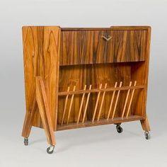 Storage :: All Storage :: Cocktail Cabinet in Jacaranda and Formica - Decoratum Vintage Furniture | Retro Furniture |1950s 1960s