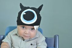 BOO! Baby's First Halloween DIY Monster Hat
