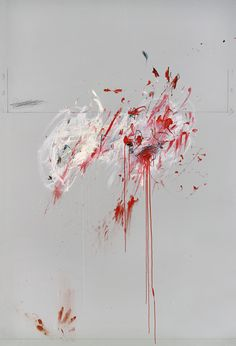 Cy Twombly Nine Discourses on Commodus, 1963 Oil, crayon and pencil on canvas