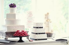 Cakes by Sweet Thea featured at the 21st annual Brock House Wedding Show