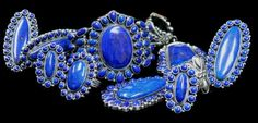 Lapis rings and pendants by Kirk Smith