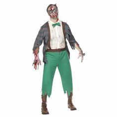 Disfraz de zombi friki