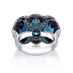 Alexandrite & Diamond 3-Stone Ring