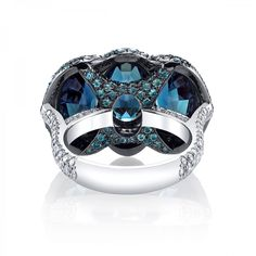 Alexandrite & Diamond 3-Stone Ring