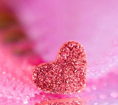 Pink Sparkle Heart ❤