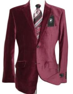 Get Discounts on ID Velvet Wedding Burgundy Prom ~ Maroon ~ Wine Color Best Cheap Blazer For Affordable Cheap Priced Unique Fancy For Men Available Big Sizes on sale Men Affordable Sport Coats Sale Mens Dress Blazers, Blazers For Men, Men Dress, Velvet Jacket Men, Velvet Blazer Mens, Maroon Suit, Cheap Coats