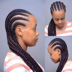 Fast and easy # scalp Braids plaits Ghana Braids Hairstyles, Cornrow Ponytail, Braids Hairstyles Pictures, Braided Ponytail Hairstyles, African Hairstyles, Amazing Hairstyles, Black Hairstyles, Natural Hair Bun Styles, Natural Hair Braids