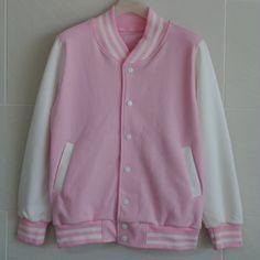 Yep... I need a pink varsity jacket.