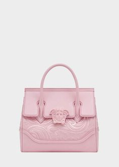 41703c780b Versace Embroidered Palazzo Empire Bag Versace Pink