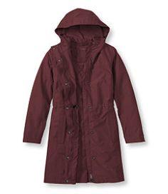 #LLBean: H2OFF Raincoat, PrimaLoft-Lined