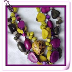 Today's Inspiration...Caribbean Vibe...  Eco Sexy... From Nature's vibrant Palette to exciting Eco Jewelry. Organic Eco Friendly Tagua Jewelry. Come check out my Etsy Shop for lots more inspiration! http://etsy.com/shop/tropicaaccessories?ref=_shop