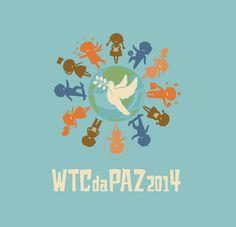 Logo criado para o WTC da Paz