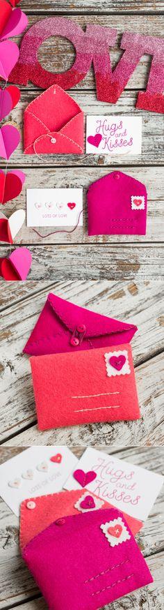 #feltenvelope #feltcraft #Valentinescraft www.LiaGriffith.com
