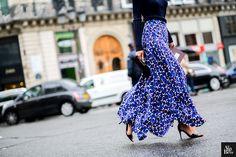 Patricia Manfield  streetstyle fashion blog paris fashion week skirt photographer © Alix de Beer