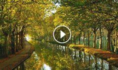in 6 minuten verliefd op de Lot-et-Garonne Country Roads, France, Travel, French