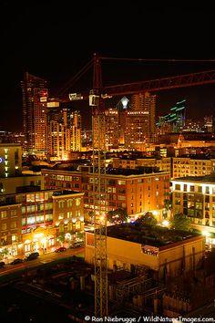 San Diego California (Gas Lamp District)