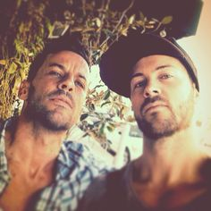 Dan Feuerriegel and Craig Parker