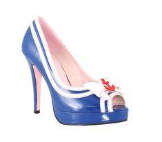 La Matey Sailor Shoes Size 8