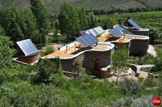 Home of Amory Lovins, founder of @Rocky Mountain Institute. At about 8,000 feet, RMI founder Amory Lovins' house, which is the nonprofit's original headquarters, serves as a showcase for the kind of ultra-efficient housing that is possible today.