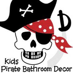 Pirate Themed Bathroom Decor For Kids   Make A Fun Themed Bathroom