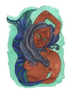 """""""Mermaid"""" by Tanya Torres"""