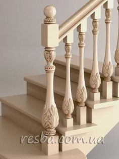 Wooden Staircase Railing, Interior Staircase, Wood Furniture Legs, Balcony Railing Design, Bedroom Door Design, Stair Decor, Modern Stairs, Decoration, House