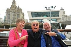 On the ferry with Gerry! Mersey music legend Marsden to provide voiceover for tourist crossings Gerry And The Pacemakers, Music Humor, Country Music, Vinyl Records, Liverpool, The Voice, Singer, Couple Photos, Bands