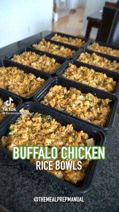 Easy Healthy Meal Prep, Easy Healthy Recipes, Healthy Cooking, Healthy Snacks, Easy Meals, Cooking Recipes, Lunch Meal Prep, Meal Prep Bowls, Meal Prep Plans