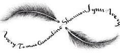 Bildergebnis für feather birds tattoo designs