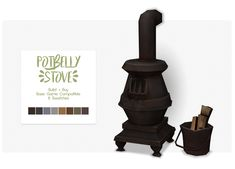 Potbelly Stove Set | Nolan-Sims on Patreon