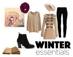 """""""Winter essentials"""" by fashionspecialclothes on Polyvore featuring Halogen, J Brand, Nly Shoes, Sole Society and Burberry"""