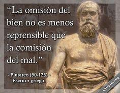 Plutarco, escritor griego.